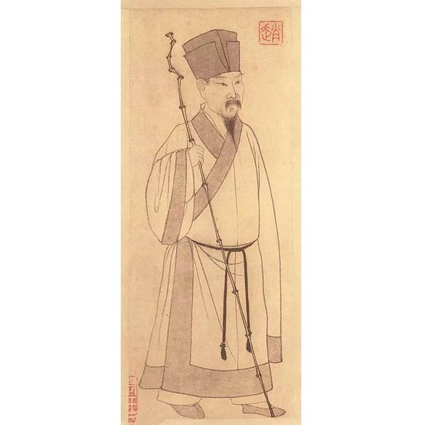 苏东坡(苏轼)(图片:〔元〕赵孟俯画,台北国立故宫博物院藏)
