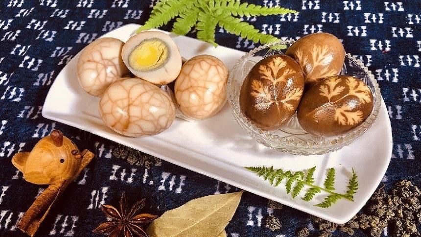 松花茶叶蛋(图片:唐韵美食)
