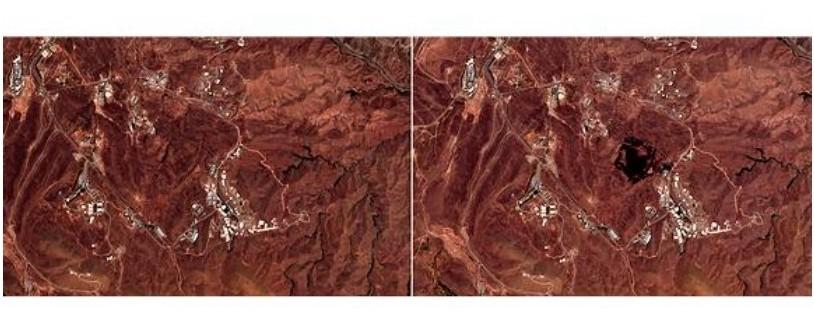 歐盟委員會衛星攝到疑似伊朗爆炸現場(AP/美聯社)