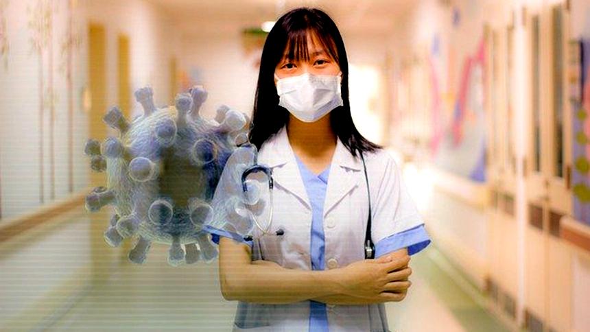 中共病毒,它是冠状病毒家族中的一员,在此之前从未在人体中发现  (图片:pixabay)
