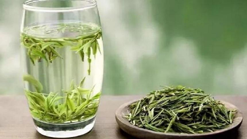 生姜绿茶饮(网络图片)