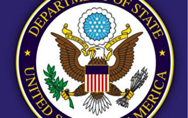 美国国务院发言人欧塔加斯(Morgan Ortagus)