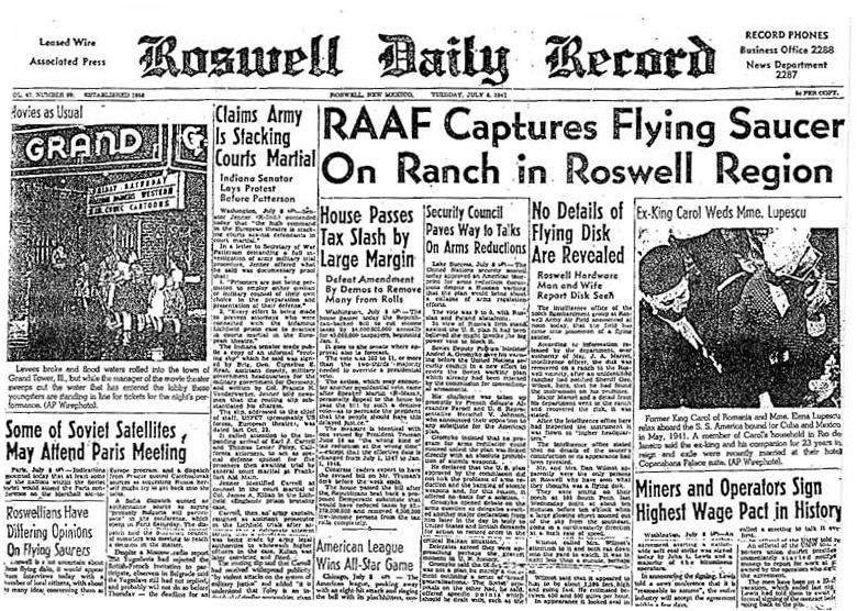 罗斯威尔事件(public domain)