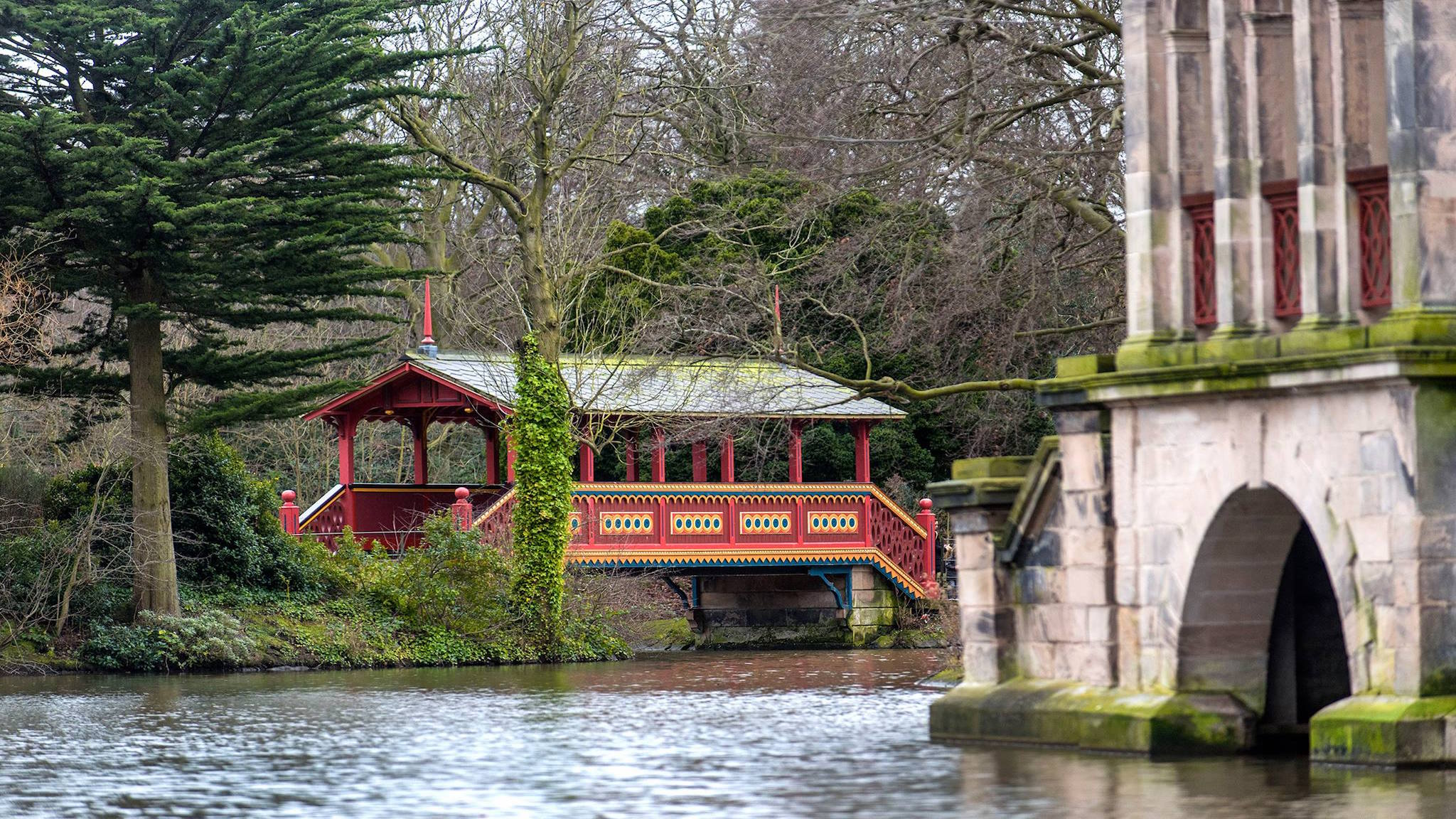 英国伯肯希德公园。(图片:facebook@Birkenhead Park)