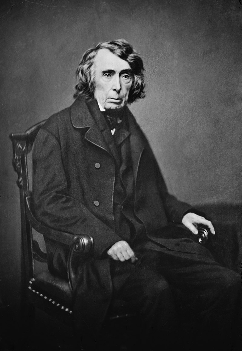 羅傑·託尼(Roger B. Taney)(圖片:Mathew Brady - This image is available from the United States Library of Congress's Prints and Photographs division under the digital ID cwpbh.00789.  )