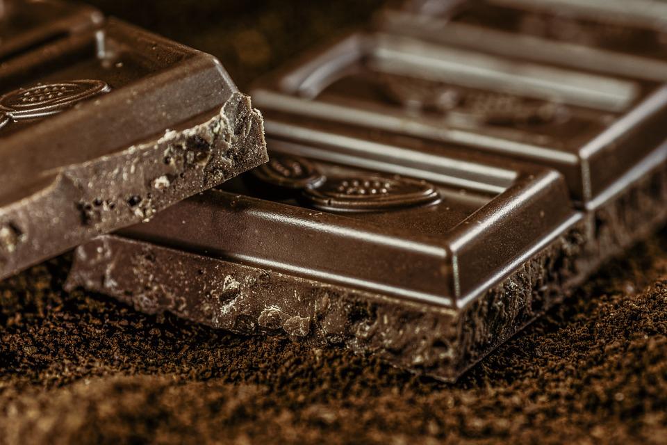黑巧克力(图片:Pixabay)