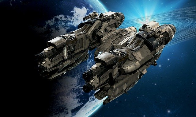 外星飞船(pixabay)