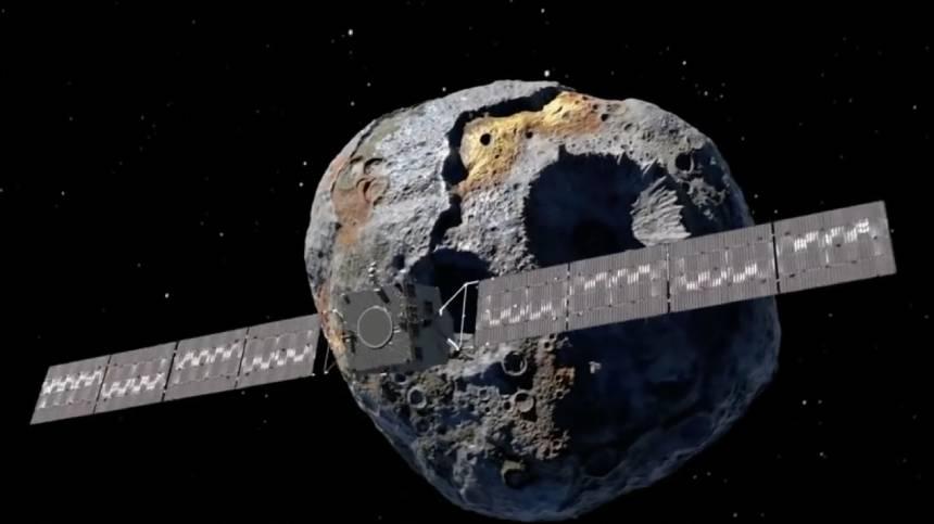 NASA计划2022年探测这颗小行星
