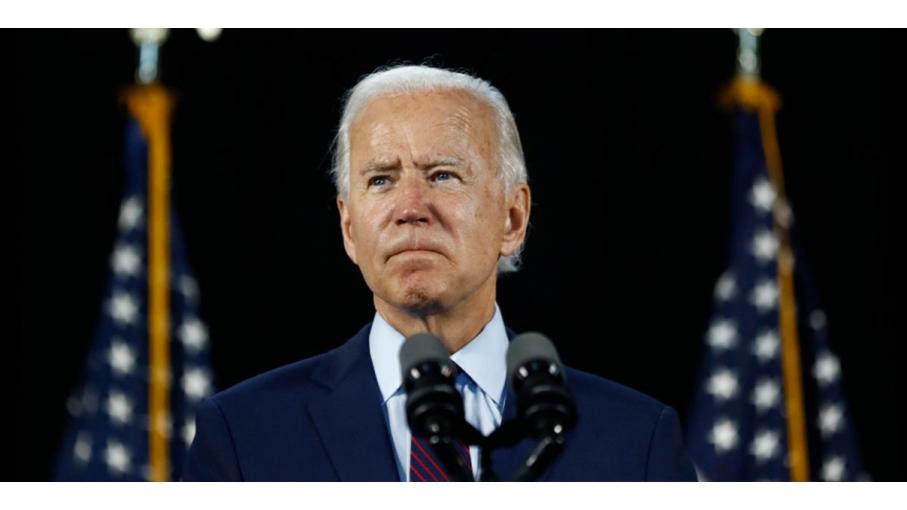 美国民主党总统候选人、前副总统乔·拜登,于2020年10月29日,被乌克兰法庭列为刑事嫌疑犯。(AP)