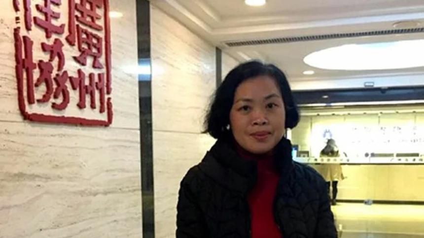 广东女律师杨斌(推特图片)