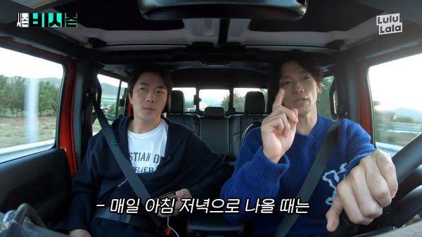 韓國樂壇巨星Rain(鄭智薰)現在也當起YouTuber, 在自己的頻道里駕着車和嘉賓天南地北的聊。近日, 重量級男演員權相佑受邀參加Rain的節目, 兩個大男人聊起老婆的話題相當逗趣, 蠻有較勁的味道。