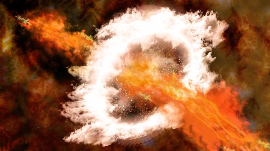 350年前银河系中心发生超级核爆!