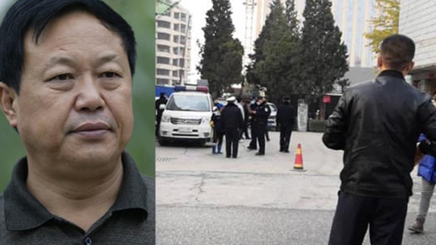 2020年11月11日,中国河北警方派出大批特警包围大午集团,并抓走包括集团创始人孙大午(左)在内的十多名高管。(自由亚洲电台)
