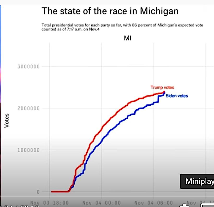 密西根票選證據