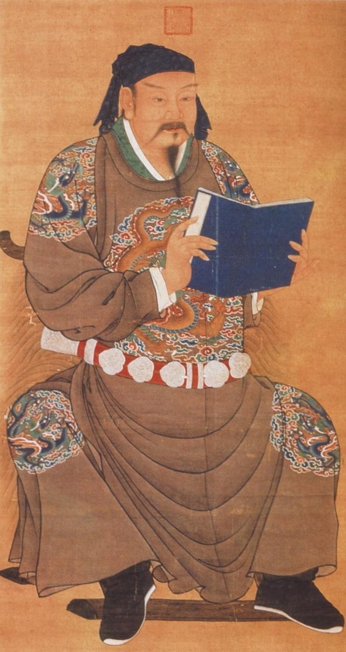 岳飛(圖片:出自《清宮殿藏畫本》)
