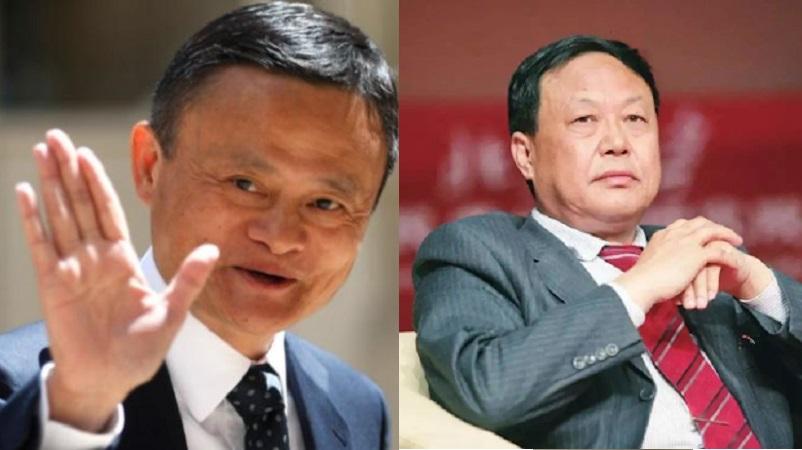 孙大午(图右)马云(图左)等民营企业家陆续被打压