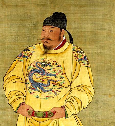 唐太宗李世民(圖片:[唐] 國立故宮博物院藏)