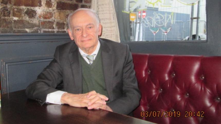 国际人权律师、《关于调查指控中共摘取法轮功学员器官的报告》作者大卫·麦塔斯(SOH 唐仲宝摄)