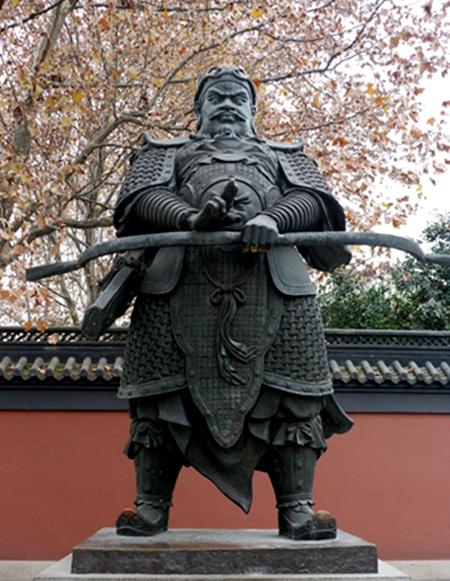 吳越王錢鏐(圖片:Marcushsu/維基,CC BY-SA 3.0)