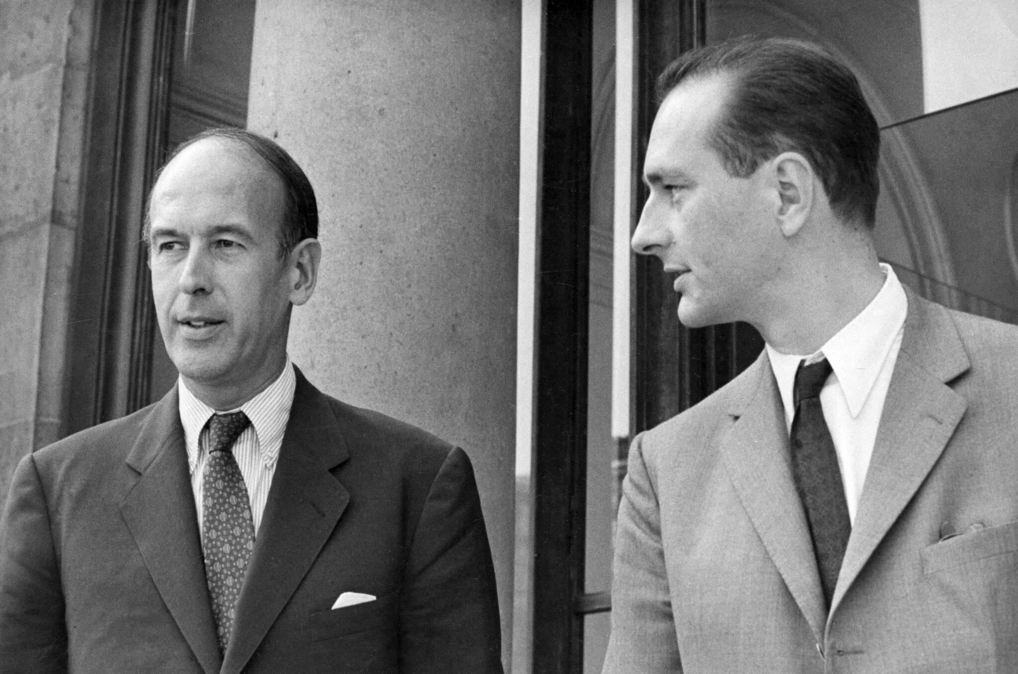 德斯坦擔任總統後他與德國總理施密特共同建立歐洲貨幣聯盟,並一同被視爲是歐洲法德模式的奠基者與監護人。(美聯社圖片)