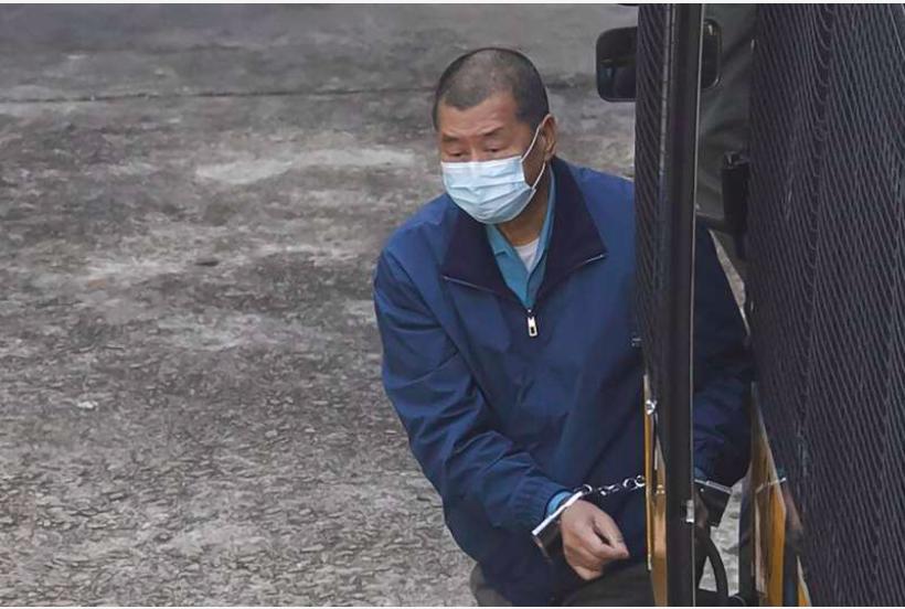 壹传媒创办人黎智英被警方加控「勾结外国或者境外势力危害国家安全」罪。