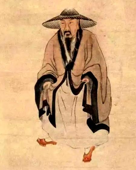 苏轼画像 (图片: [明] 陈洪绶绘)