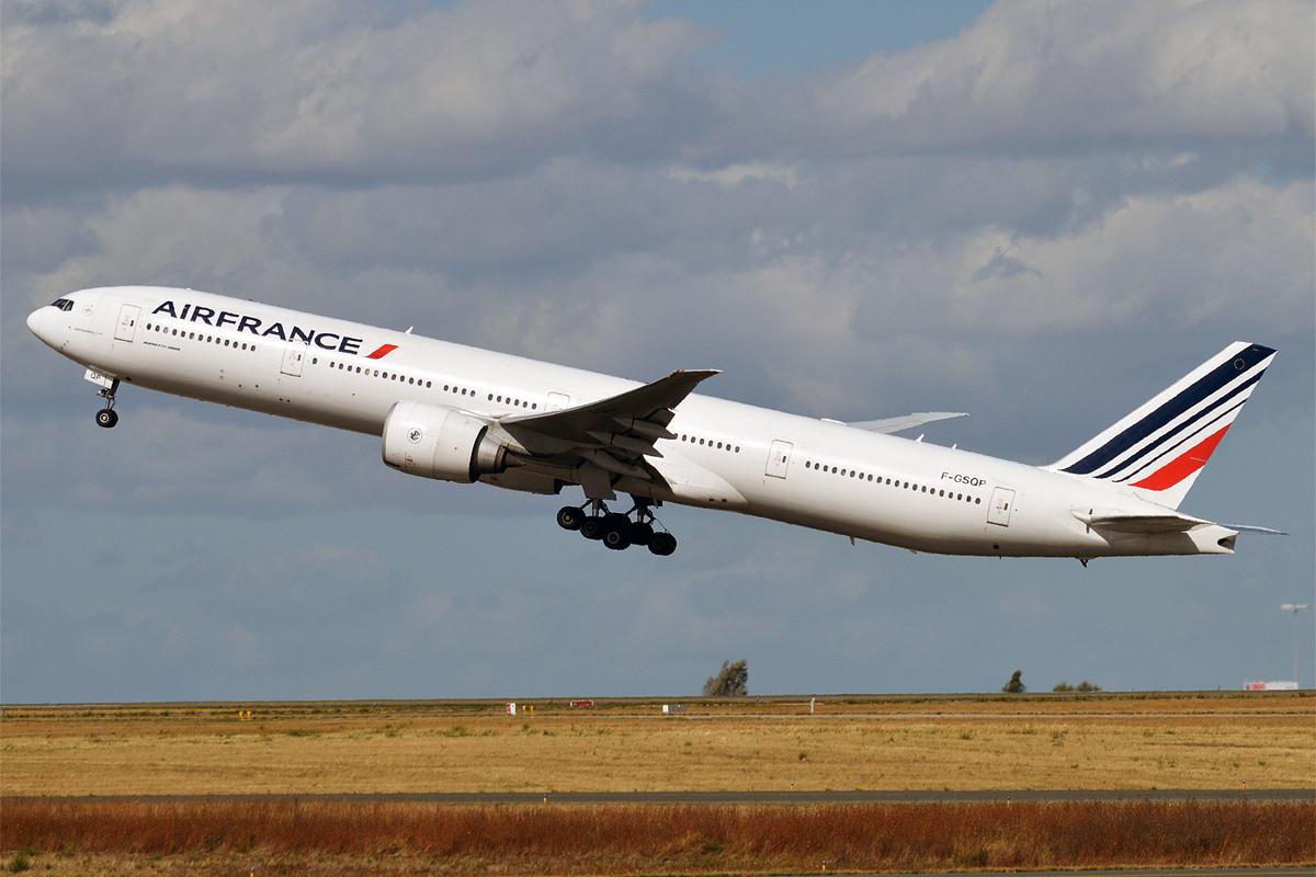 法国航空同款777-300ER客机