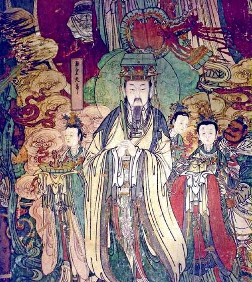自从天皇大帝这六天帝主宰宇宙以来,魔妖鬼怪就同时产生了(示意图片:明代壁画)