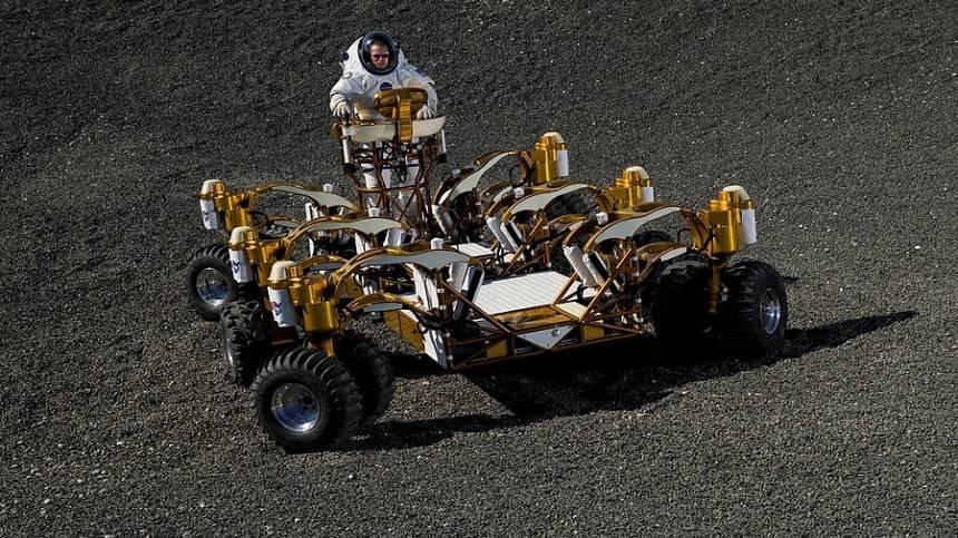 NASA lunar rover in 2020