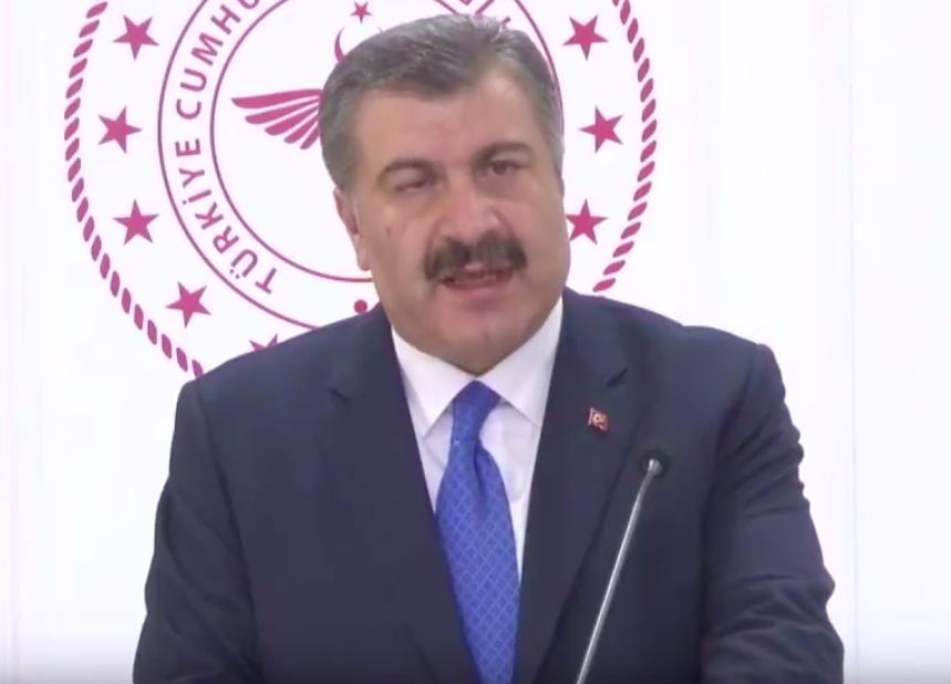 土耳其衛生部長克扎(Fahrettin Koca)