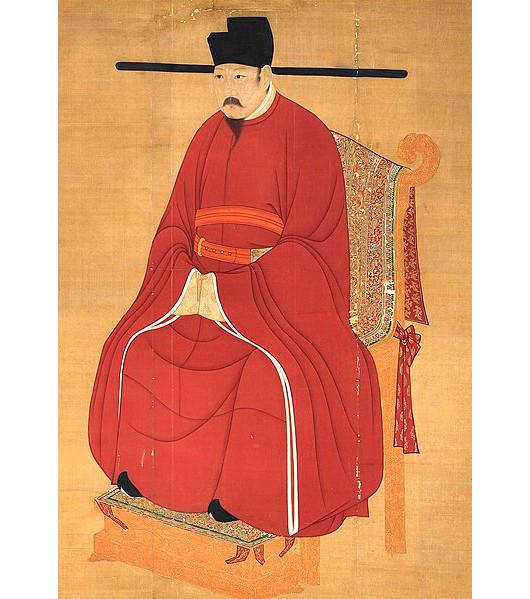 宋仁宗(图片:国立故宫博物院藏)