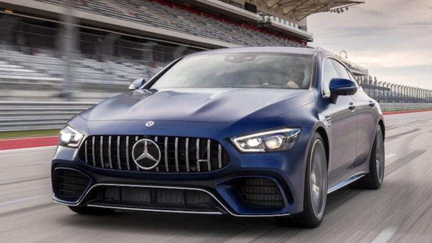 奔驰 AMG GT (4门) (Mercedes-Benz)