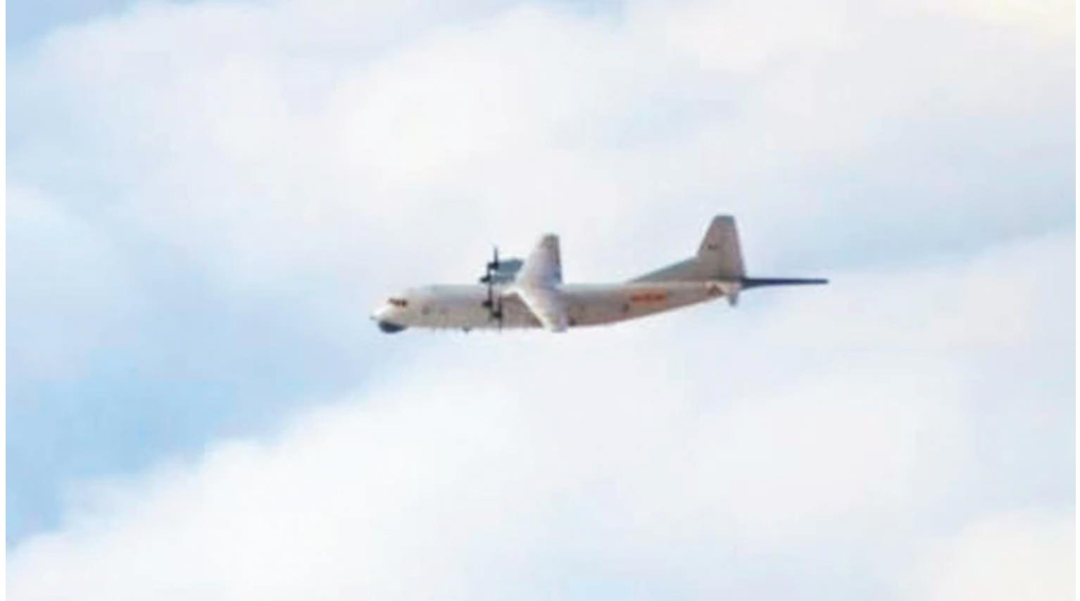 國防部昨公佈共軍一架運-8反潛機擾我西南空域,遭我空軍驅離。
