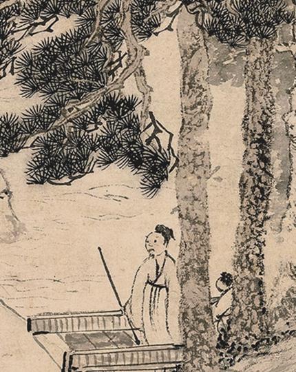 《清稗类钞》记载了一位异人(示意图片: 明代绘画局部)