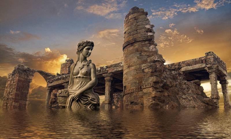 亚特兰蒂斯文明遗迹