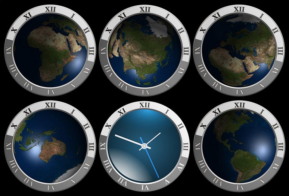 全球分为24个时区。(图片:pixabay)