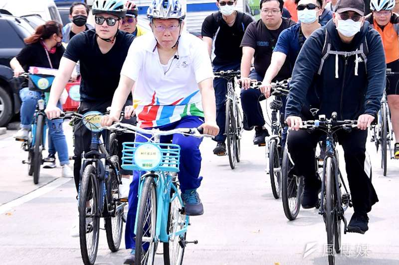 臺北市長柯文哲28日談及新疆血棉花引發的相關爭議。
