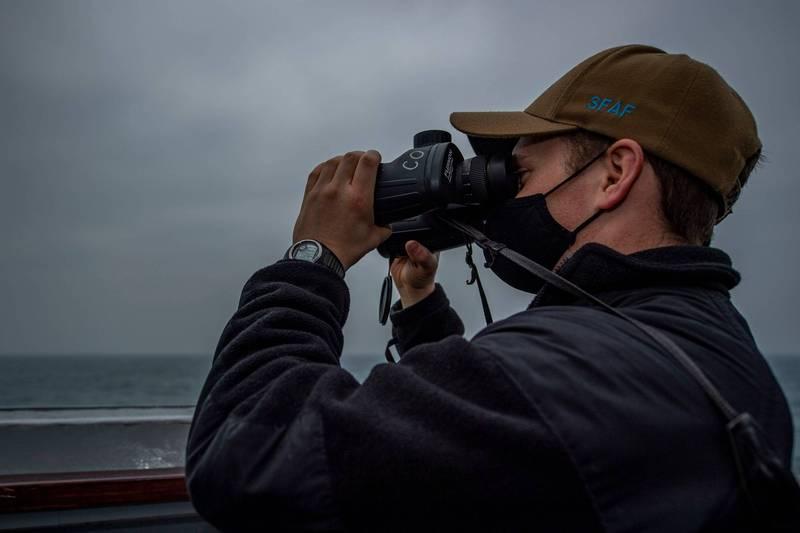 美國海軍太平洋艦隊今天指出,伯克級驅逐艦芬恩號(USS John Finn DDG-113)於臺灣時間3月10日航行臺海。