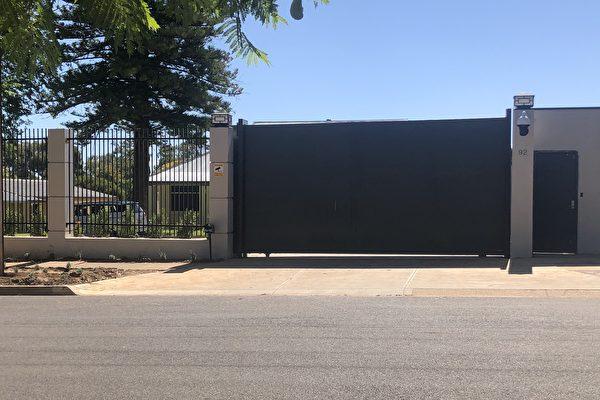 中共驻南澳领事馆修建的新办公场所。
