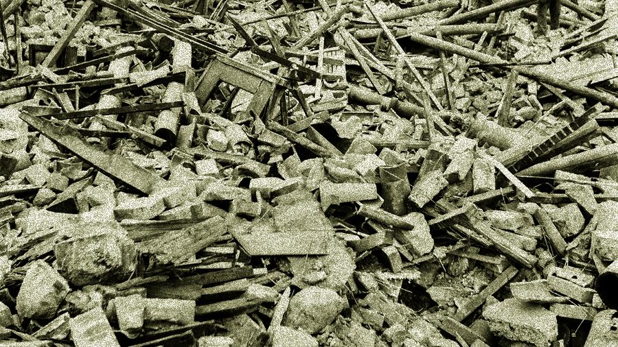 地震过后三千男女尸体  只有四百对是夫妻(示意网络图片)