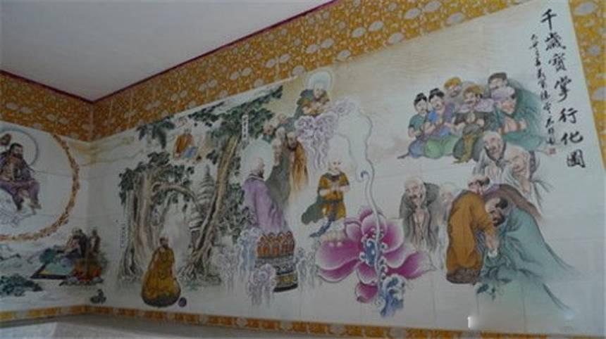 Bản đồ Baozhang Monk Xinghua