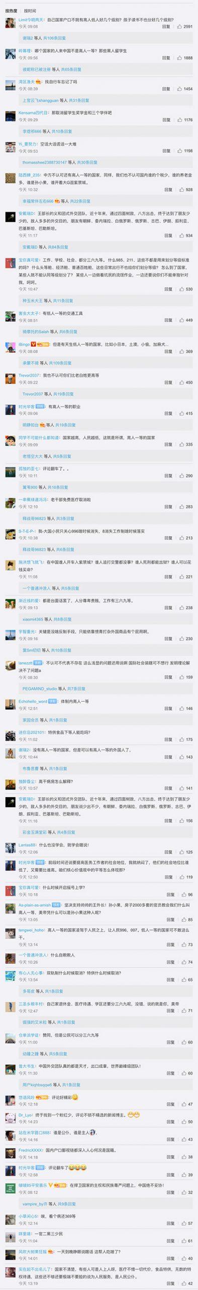 网友评论(图片来源:微博截图)