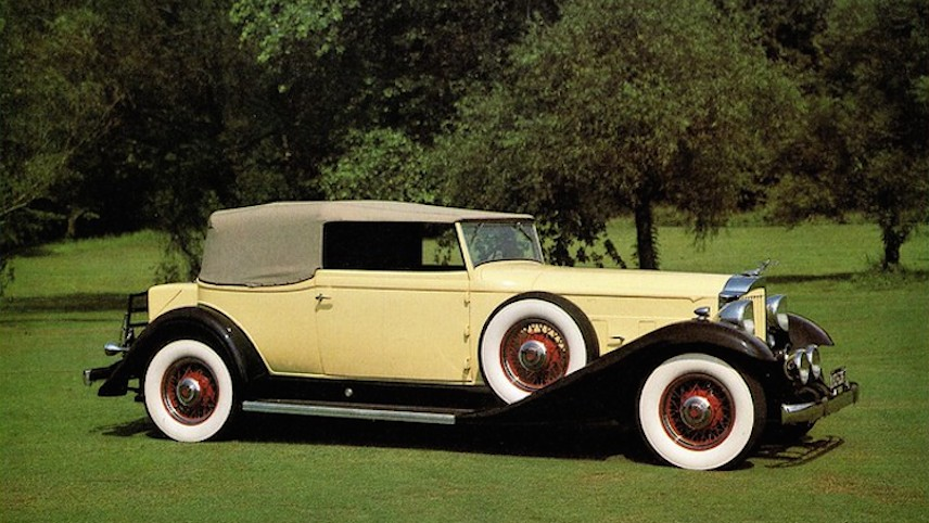 1933 Packard Super Eight Convertible Victoria (Alden Jewell/Flickr,CC BY 2.0)