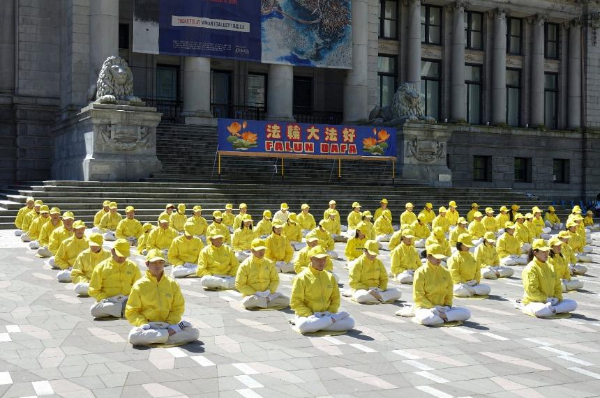 第22届世界法轮大法日将至 温哥华集会庆贺