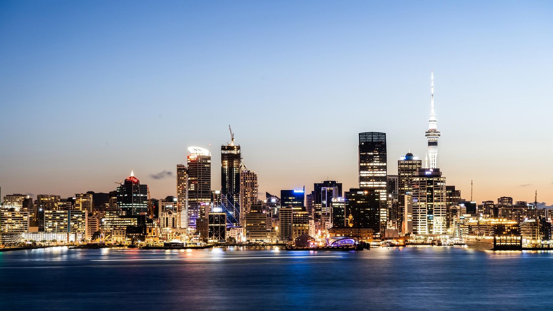 新西兰城市——奥克兰(Auckland)被评为全球最宜居城市,图为奥克兰。(图片来源:Pixabay)