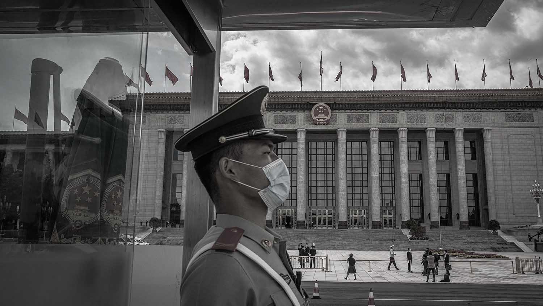 中共政法系统大整肃,波及近十万干警。(图片来源:AP)