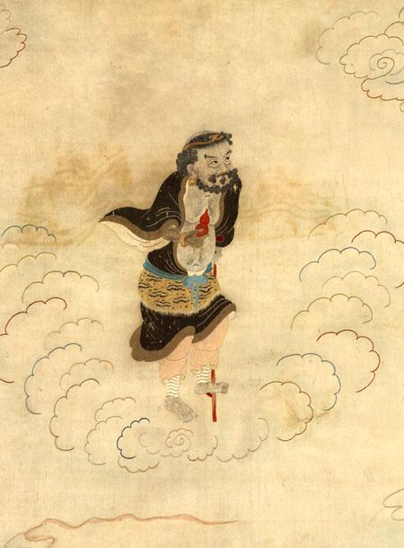 李铁拐(图片:明顾绣 李铁拐)