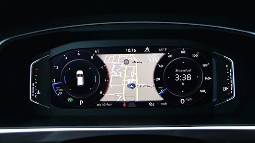 Car: VW: 2021 Volkswagen Tiguan SEL (Ao Li/ The Epoch Times)