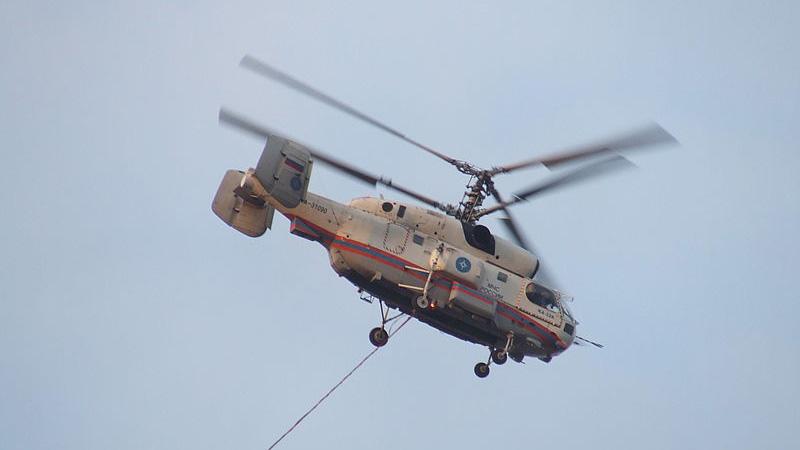 卡28直升机,示意图(图片来源:公有领域 维基百科 作者:Alexmilt)
