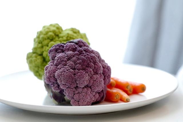 紫色花椰菜(pixabay)